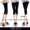 2013 New arrival black thin cotton fashion ladies hot sex leggings