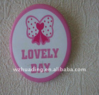 Pin button badge for promotion