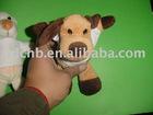 Plush Dog Keychain