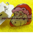 Christmas Father LED Brooch