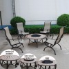 patio fire pit table sets