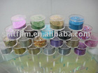 Rainbow glitter powder film