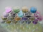 Rainbow glitter powder film