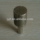 Electroplated diamond grinding rod