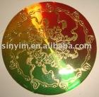 aluminum scutcheon,rating plate, Crystal Scutcheon, name plate