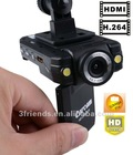Hot Sell~! Car DVR , CarCam HD Car DVR K2000 with 1080P + H.264 + HDMI