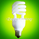 Mini 7W Half spiral CFL Bulb/Lamp, Energy saving