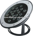 18X1W LED underwater Light/24V Pool Light
