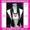 Custom decoration scarf jewelry fashion scarf with accessories