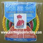 4 different sizes circular hat weaving plastic knitting loom