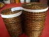 basket in one set of three for packing clothes in fabric WBL-13020