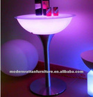 remote LED furnishing table chair bar sets