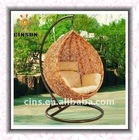 Hot! Rattan hanging egg chair,hanging basket chair