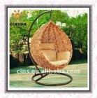 Hot! Rattan hanging egg chair,hanging basket chair