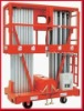 Reliable mobile aluminium work platform (dual mast)