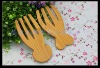 pine wood salad hands servers