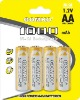 NiCd rechargeable battery AA 1000mAh,1.2V