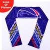 hot sell heat transfer custom printed sport scarf