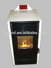 YW22-E pellet stove with boiler