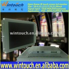 19 inchopen frame IR touch screen lcd monitor with bezel for POG / WMS gaming machine