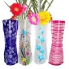 unbreakable plastic water vase