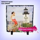 Sublimation Coated Photo Slate for home decoration