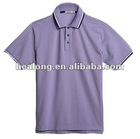 short sleeve cotton man's polo t-shirt