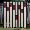 Q433-80.19Chinese Antique Wooden Folding Screen