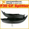 JC Design Carbon Fiber F30 Front Splitter/Apron for BMW