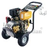 high pressure washer with oil