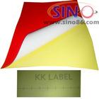 PVC Wall sticker,self adhesive color pvc sticker vinyl film