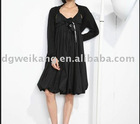 Black New Style Fashion Chiffon Dress