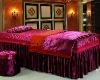 2012 luxury claret queen size beauty salon duvet cver set