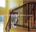 cast iron stair handrail