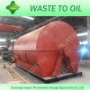 Scrap plastic into diesel and gasoline distillation machinery with ISO, CE
