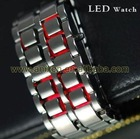 Lava Style Iron Samurai LED Metal Fashion Watch