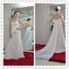 Sweetheart Empire Strapless Beading Crystal Chapel Train Wedding Dress WDS24