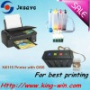 chipless printer with ciss NX115 for epson series printer