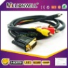 HDMI HDTV to VGA 3 RCA Converter Adapter Cable 1080p