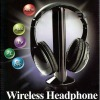 Wireless Earphone Headphone 5 in 1 for MP3 PC TV CD