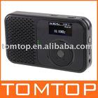 Mini Pocket DAB DAB+ FM Radio MP3 Recorder Alarm Clock