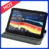 360 Degree Rotatory Stand Leather Case, for Motorola Xoom2 Leather