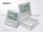 LCD Digital Calendar clock with weather station
