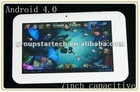 7 inch tablet pc,800*480 LCD, 512MB DDR3, 7inch capacitive touch, Android 4.0 OS
