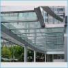 Laminated corridor glass