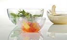 Borosilicate Salad Glass Bowl