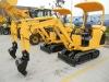 1.5 ton bobcat mini digger crawler excavator