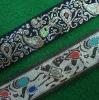 (New LP3013 Woven jacqurad webbing&tape)Jacquard webbing /tape/Pant's jacquard stripe