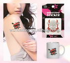 self-adhesive acrylic rhinestone tattoo sticker