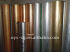 Metal PVC film decoration material